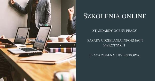 Studium Menedżera CC: 9 i 10 stycznia 2021 - Praca zdalna i hybrydowa jako nowy standard organizacji pracy w cc oraz standardy oceny pracy i zasady udzielania informacji zwrotnych