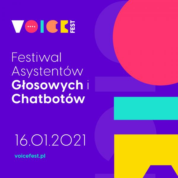 Pierwszy polski Festiwal Asystentów Głosowych i Chatbotów już w ten weekend
