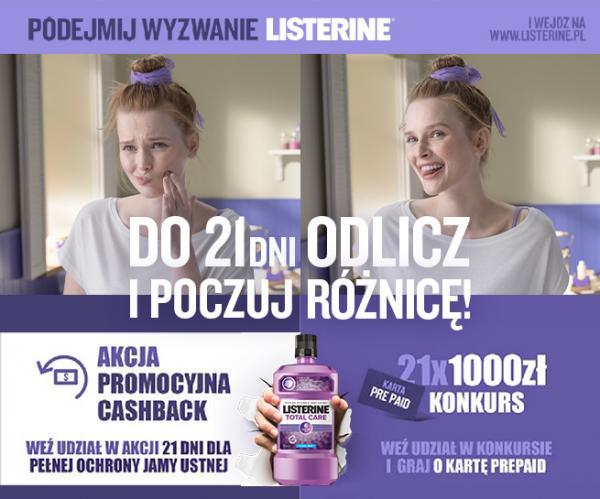 Agencja UNIQUE ONE przygotowała konkurs dla marki Listerine®
